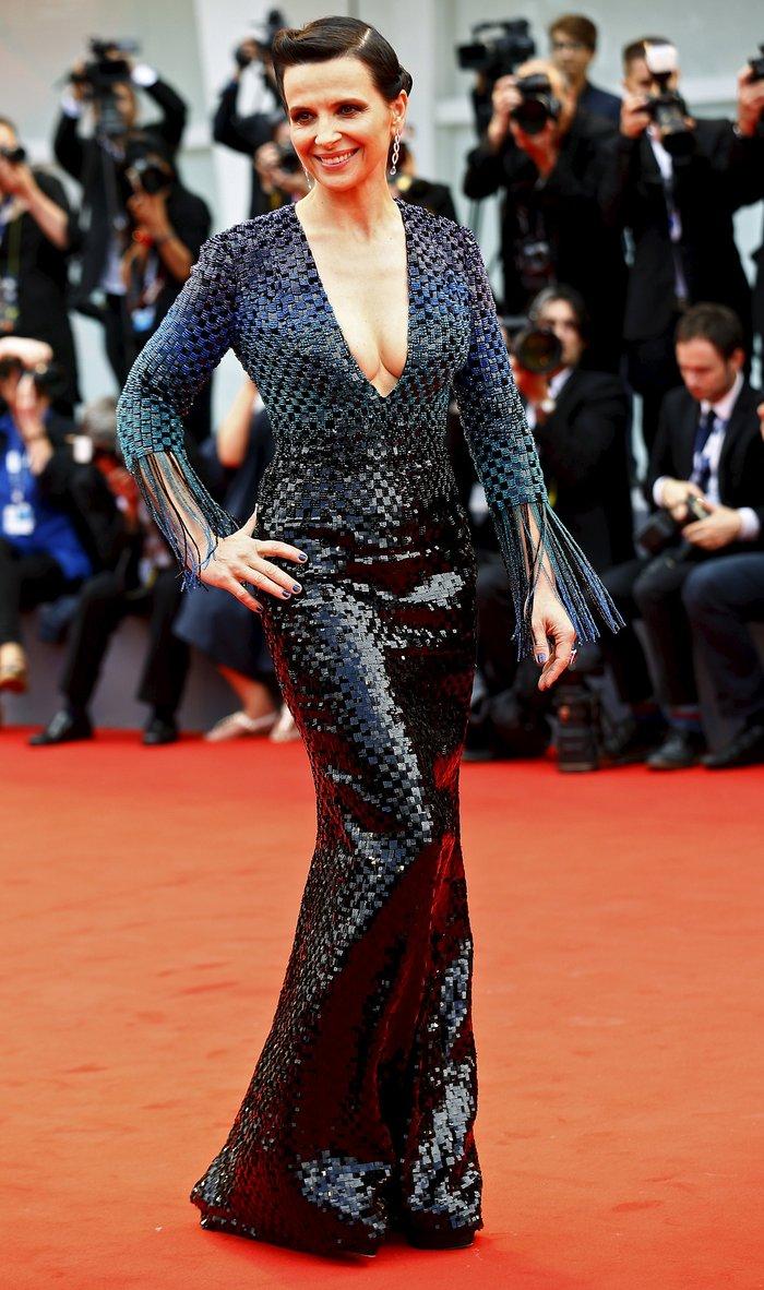 Αισθησιακή κι ανθεκτική στο χρόνο, η Ζιλιέτ Μπινός στην πρεμιέρα της ταινίας L' Attesa