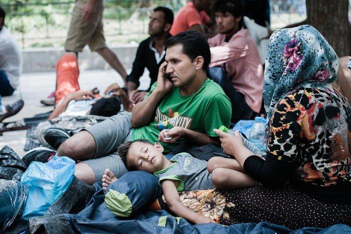 Καταυλισμός μεταναστών η Πλατεία Βικτωρίας - εικόνα 2