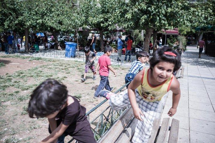 Καταυλισμός μεταναστών η Πλατεία Βικτωρίας - εικόνα 6