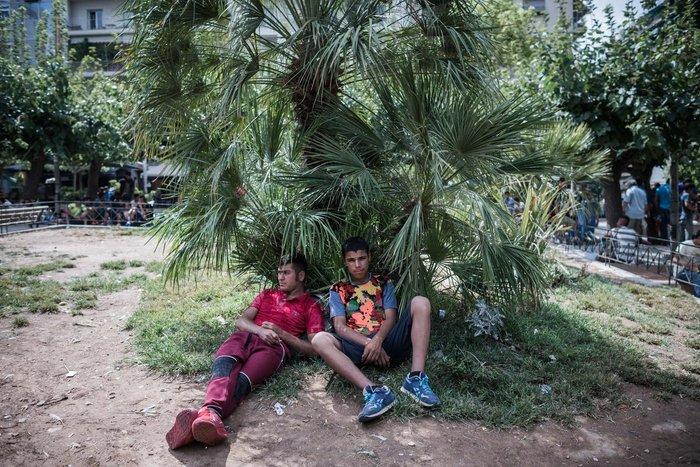Καταυλισμός μεταναστών η Πλατεία Βικτωρίας - εικόνα 7