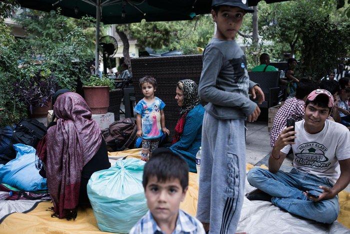 Καταυλισμός μεταναστών η Πλατεία Βικτωρίας - εικόνα 8