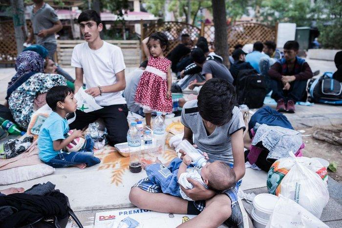 Καταυλισμός μεταναστών η Πλατεία Βικτωρίας - εικόνα 9