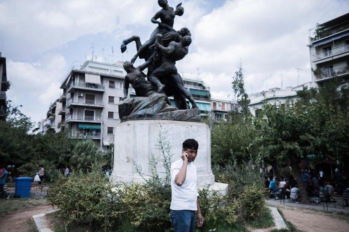 Καταυλισμός μεταναστών η Πλατεία Βικτωρίας - εικόνα 11