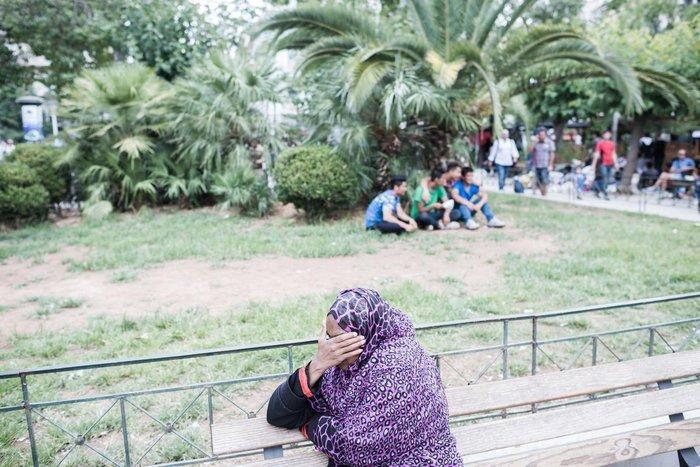 Καταυλισμός μεταναστών η Πλατεία Βικτωρίας - εικόνα 12