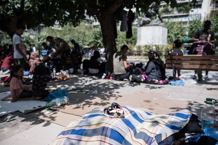 Καταυλισμός μεταναστών η Πλατεία Βικτωρίας - εικόνα 13