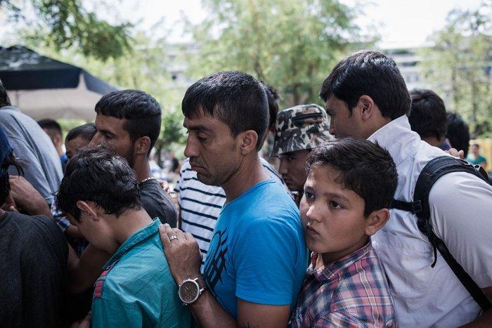 Καταυλισμός μεταναστών η Πλατεία Βικτωρίας - εικόνα 14