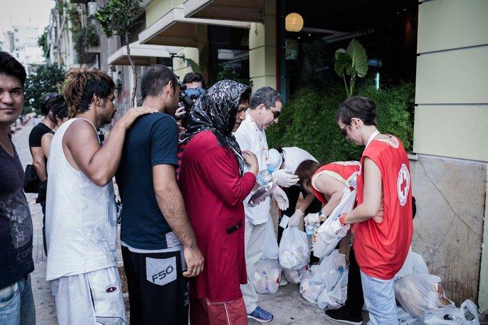 Καταυλισμός μεταναστών η Πλατεία Βικτωρίας - εικόνα 15
