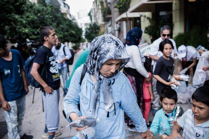 Καταυλισμός μεταναστών η Πλατεία Βικτωρίας - εικόνα 16