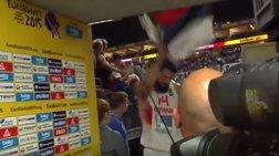 Eurobasket: Έσκισε τη σημαία της Σερβίας ο Μαυροβούνιος Μίροτιτς [Bίντεο]