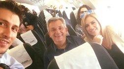 i-selfie-tis-fwfis-sto-aeroplano-gia-thessaloniki