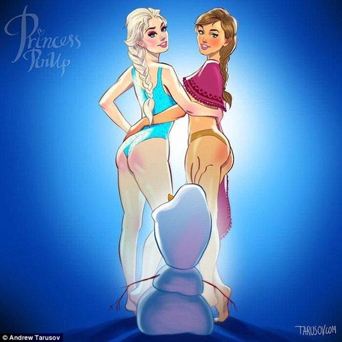 Η Ελσα και η Αννα του Frozen