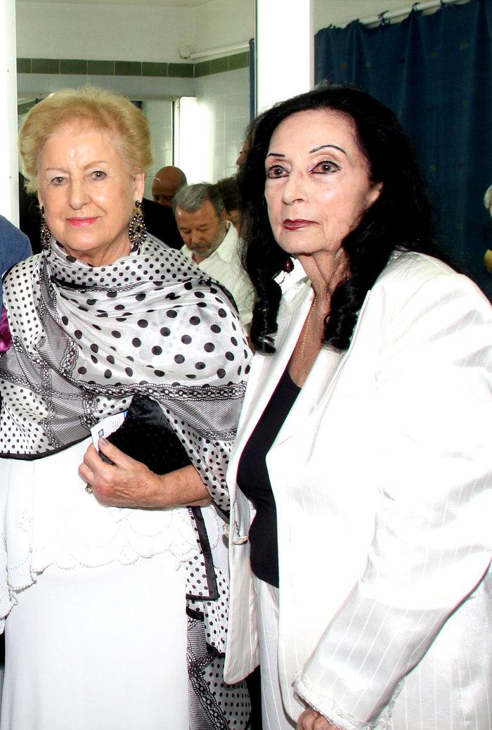 Η μητέρα του Αλεξάντερ Ντεσπλά με την αγαπημένη της φίλη, Μαίρη Λω