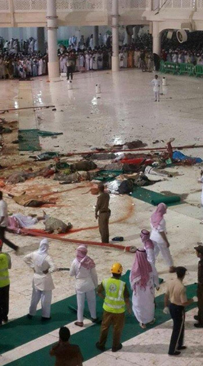 107 νεκροί στη Μέκκα: Γερανός πλάκωσε πιστούς στο Μεγάλο Τζαμί
