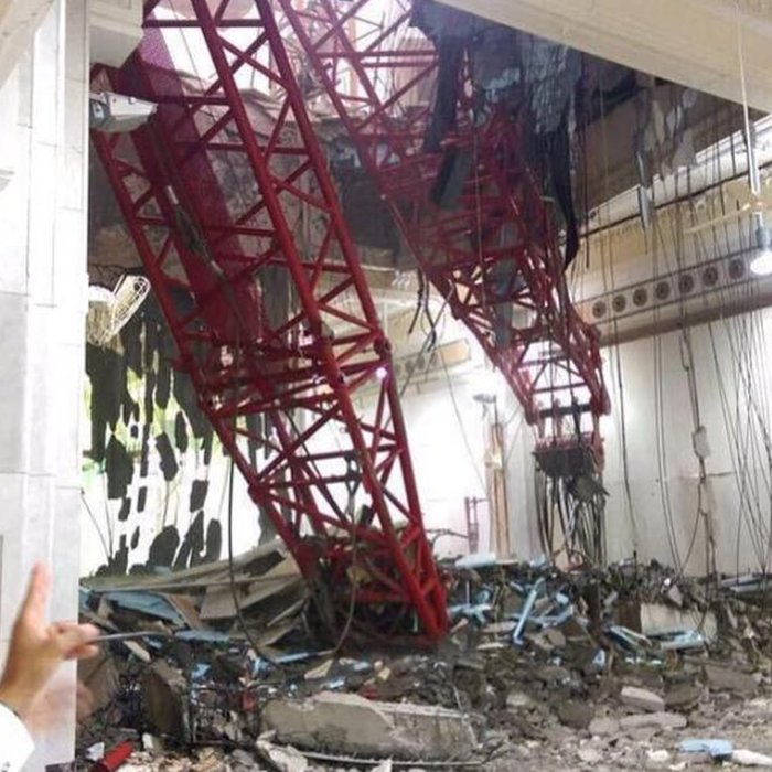 107 νεκροί στη Μέκκα: Γερανός πλάκωσε πιστούς στο Μεγάλο Τζαμί - εικόνα 2