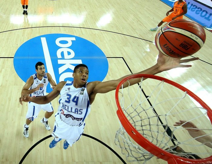 Eurobasket 2015: Ελλάδα - Βέλγιο στις 15:30