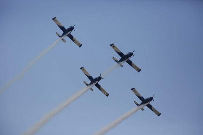 Ιπτάμενο υπερθέαμα που κόβει την ανάσα στο «Athens Flying Week»