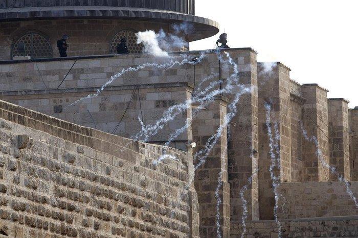 Πεδίο μάχης η Πλατεία των Τεμενών στην Ιερουσαλήμ