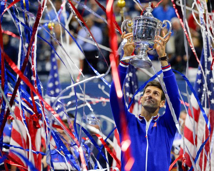 Ο «Νόλε» σήκωσε το τρόπαιο του US Open