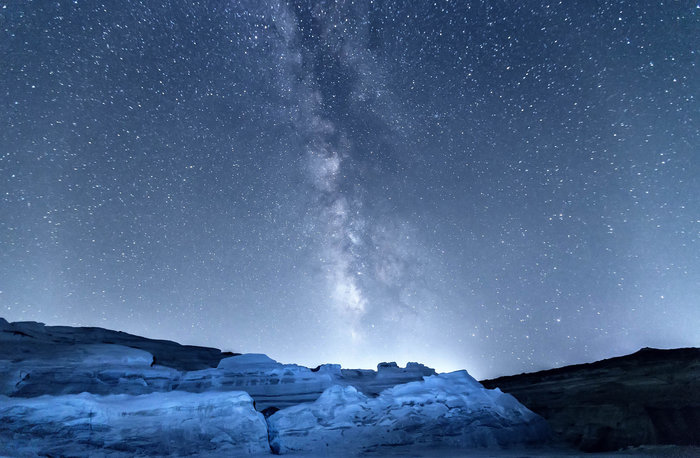 Η καλύτερη θέα του γαλαξία από το Σαρακήνικο της Μήλου