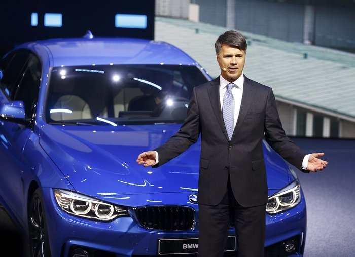 Η επεισοδιακή επίσημη... πρώτη του CEO της BMW - εικόνα 4