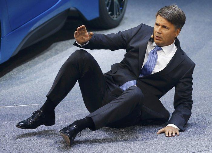 Η επεισοδιακή επίσημη... πρώτη του CEO της BMW - εικόνα 5