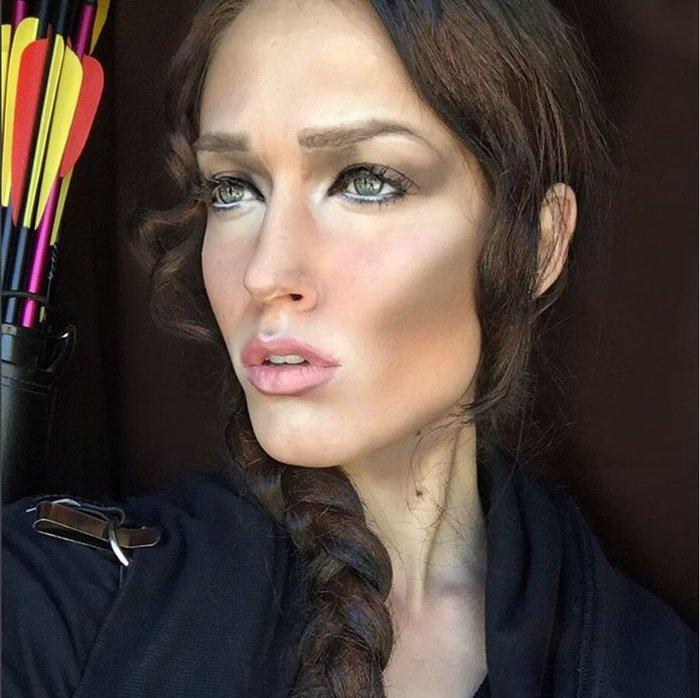 Η τρομακτική δύναμη του μακιγιάζ μέσα από 20 μεταμορφώσεις μιας γυναίκας - εικόνα 5