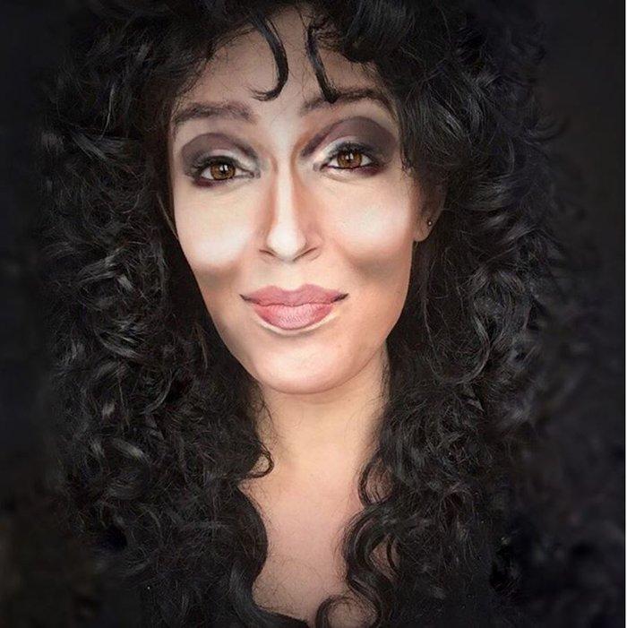 Η τρομακτική δύναμη του μακιγιάζ μέσα από 20 μεταμορφώσεις μιας γυναίκας - εικόνα 8
