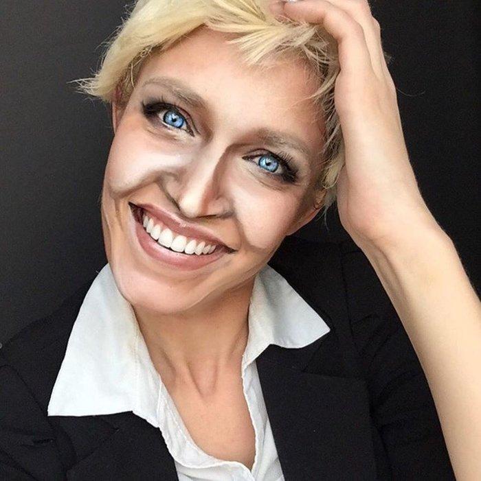 Η τρομακτική δύναμη του μακιγιάζ μέσα από 20 μεταμορφώσεις μιας γυναίκας - εικόνα 17