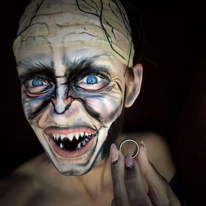 Η τρομακτική δύναμη του μακιγιάζ μέσα από 20 μεταμορφώσεις μιας γυναίκας - εικόνα 18