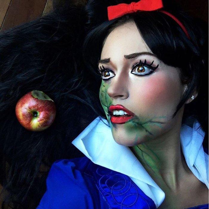 Η τρομακτική δύναμη του μακιγιάζ μέσα από 20 μεταμορφώσεις μιας γυναίκας - εικόνα 19