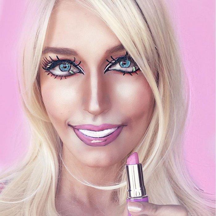 Η τρομακτική δύναμη του μακιγιάζ μέσα από 20 μεταμορφώσεις μιας γυναίκας - εικόνα 20