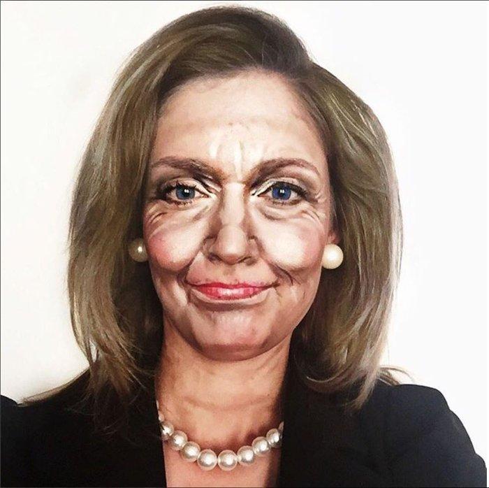 Η τρομακτική δύναμη του μακιγιάζ μέσα από 20 μεταμορφώσεις μιας γυναίκας - εικόνα 21
