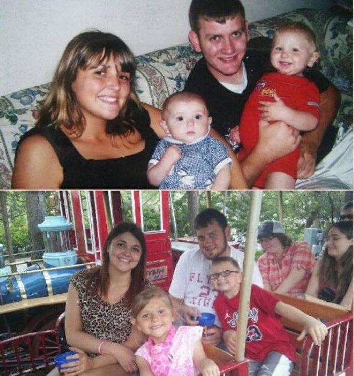 Μάνα με τα παιδιά της φωτογραφίζονται με το νεκρό πατέρα τους: δείτε γιατί - εικόνα 3