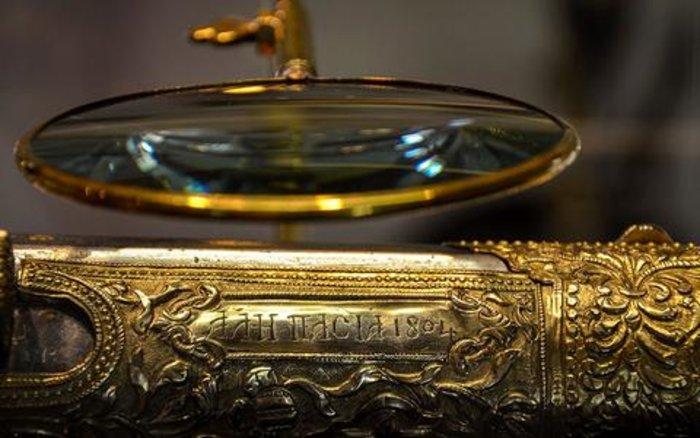 Στο φως το «κεντημένο» με χρυσό καριοφίλι του Αλή Πασά