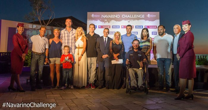 Οι βραβευθέντες στο Cocktail Night by Qatar Airways του Navarino Challenge (photo by Elias Lefas)