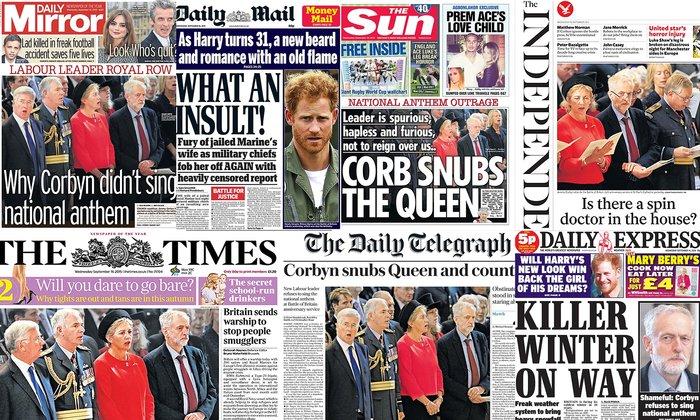 «Ο Κόρμπιν σνομπάρει τη Βασίλισσα και τη χώρα»