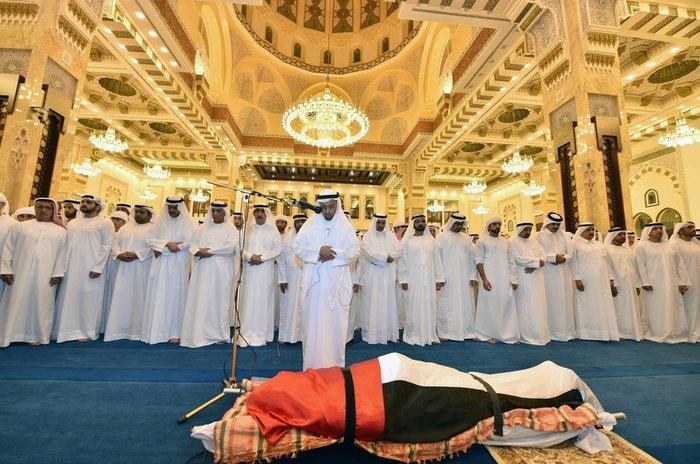 Θρήνος στο Ντουμπάι για το τελευταίο αντίο του πρίγκιπα