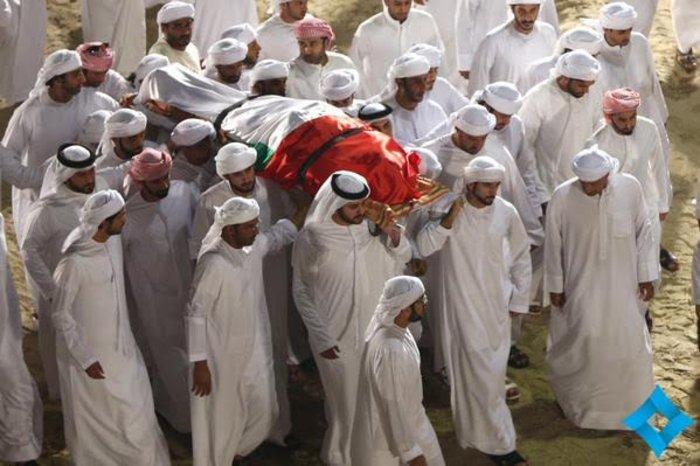 Θρήνος στο Ντουμπάι για το τελευταίο αντίο του πρίγκιπα - εικόνα 2