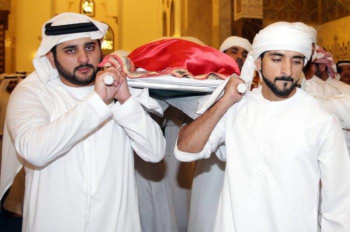 Θρήνος στο Ντουμπάι για το τελευταίο αντίο του πρίγκιπα - εικόνα 3
