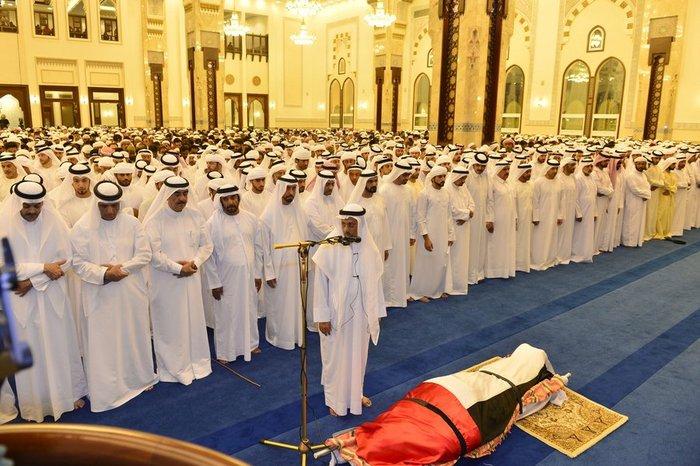 Θρήνος στο Ντουμπάι για το τελευταίο αντίο του πρίγκιπα - εικόνα 5