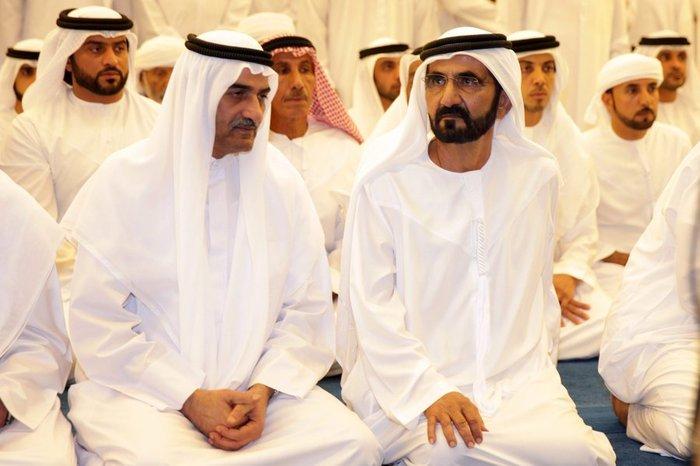 Θρήνος στο Ντουμπάι για το τελευταίο αντίο του πρίγκιπα - εικόνα 6