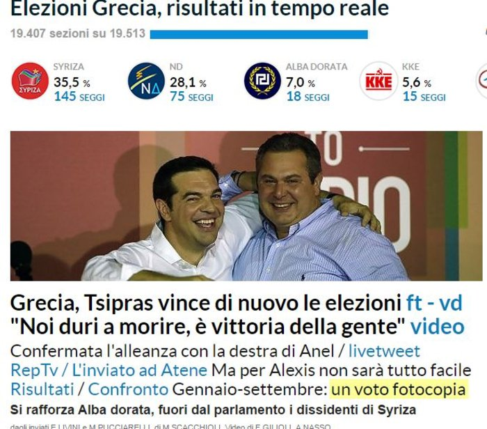 Ξένα ΜΜΕ: Νίκη-θρίαμβος του Αλέξη Τσίπρα - εικόνα 6