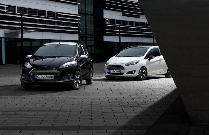 Νέα Ford Fiesta Black & White
