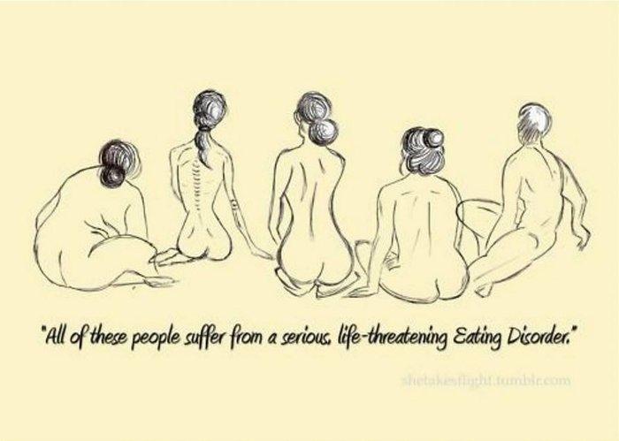 Το θύμα ανορεξίας που σήμερα προβάλει τις καμπύλες της με αυτοπεποίθηση - εικόνα 12