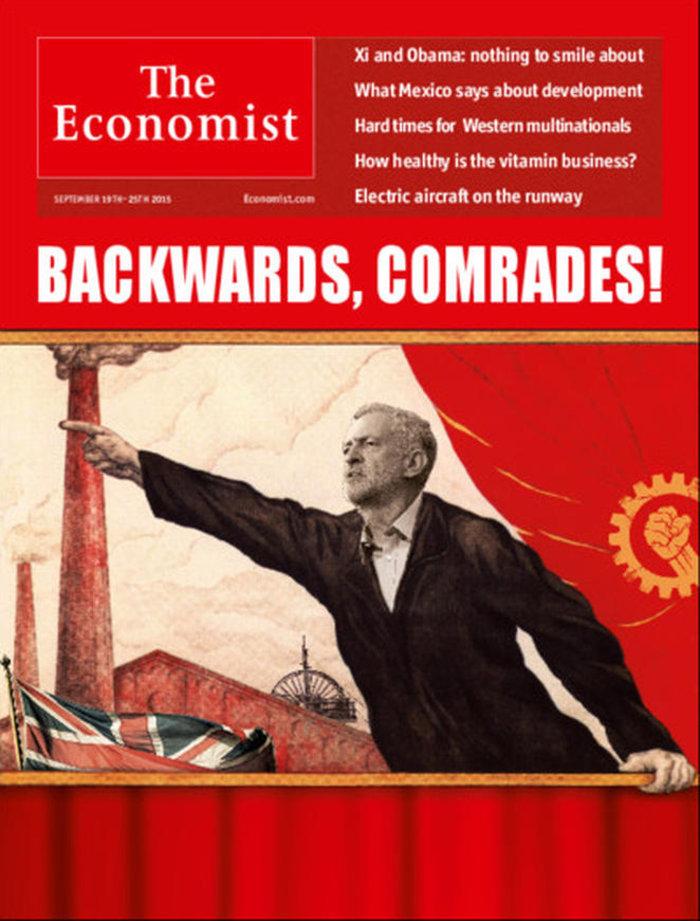Το Economist παρουσιάζει τον Κόρμπιν ως την μετενσάρκωση του Λένιν