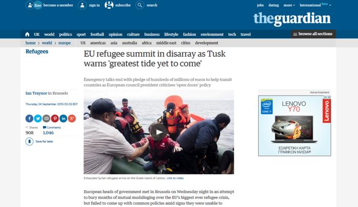 Τι κάνει και τι δεν κάνει η Ευρώπη για το προσφυγικό