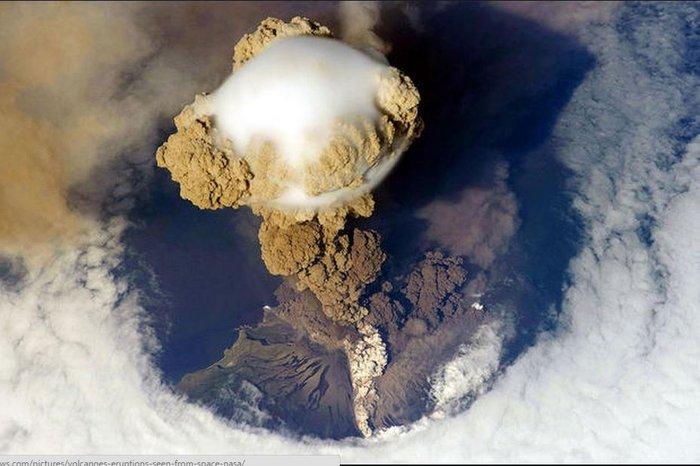 Εκρήξεις ηφαιστείων από το διάστημα - Εκπληκτικές φωτογραφίες της ΝΑΣΑ