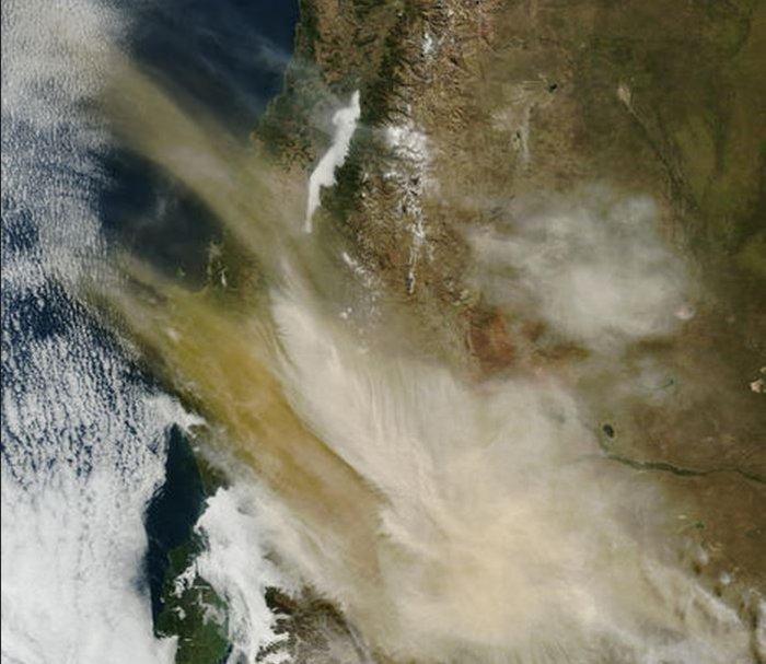 Εκρήξεις ηφαιστείων από το διάστημα - Εκπληκτικές φωτογραφίες της ΝΑΣΑ - εικόνα 3