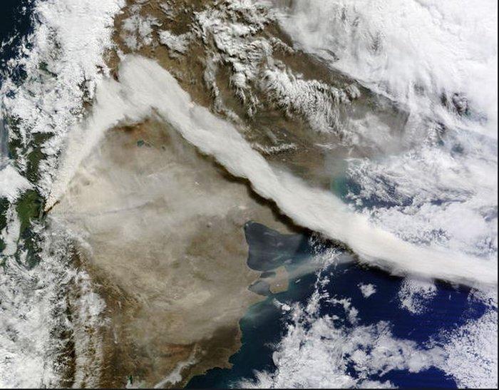 Εκρήξεις ηφαιστείων από το διάστημα - Εκπληκτικές φωτογραφίες της ΝΑΣΑ - εικόνα 6