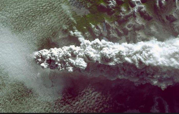 Εκρήξεις ηφαιστείων από το διάστημα - Εκπληκτικές φωτογραφίες της ΝΑΣΑ - εικόνα 10